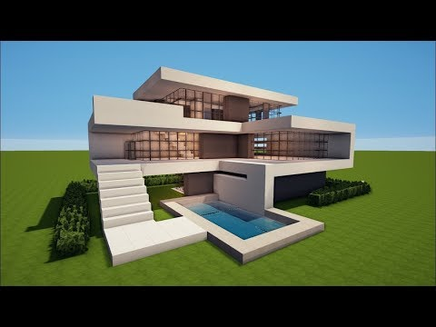 Minecraft: How to Build a Modern House - Best House Tutorial
