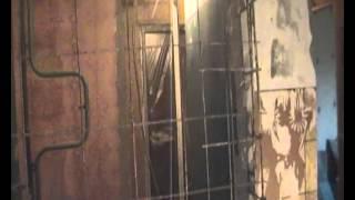 2. ДЕМОНТАЖ гипсолитовой кабины\ сантехнической  кабины\демонтаж стен в ванной\(, 2014-10-12T20:02:55.000Z)
