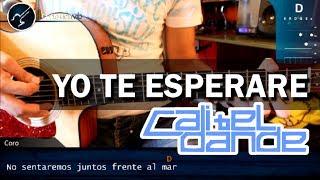 """Cómo tocar """"Yo Te Esperaré"""" de Cali y el Dandee en Guitarra Acústica (HD) Tutorial - Christianvib"""