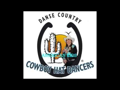 AMERICAN KIDS par le groupe animation des COWBOY HAT DANCERS