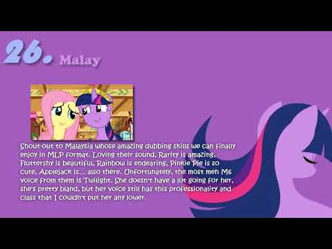 *Personal Ranking* Twilight Sparkle's singing voices [Remake]