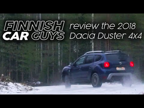 2018 Dacia Duster 4x4 review - does it drift & go offroad?
