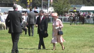 The Queen visits the New Forest Show, 25 July 2012