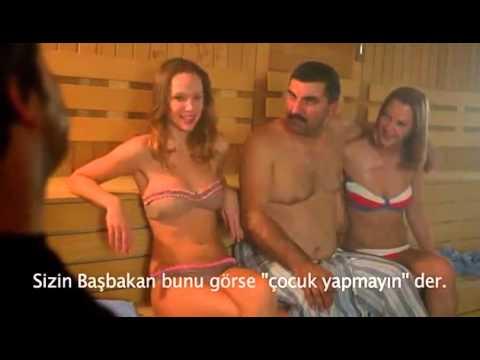 Sabit Kanca Sauna Sahnesi