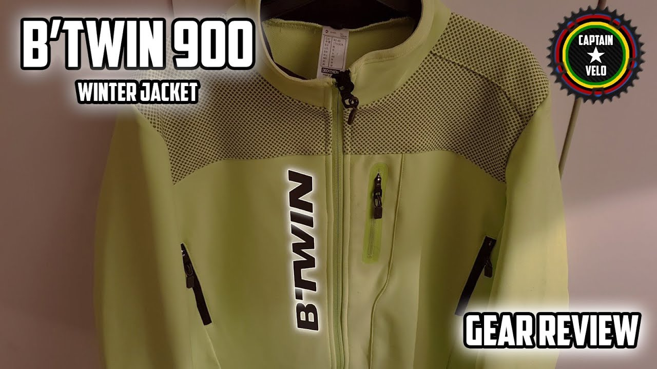 B TWIN 900 Winter Warm Cycling Jacket - Gear Review - YouTube 822d20541
