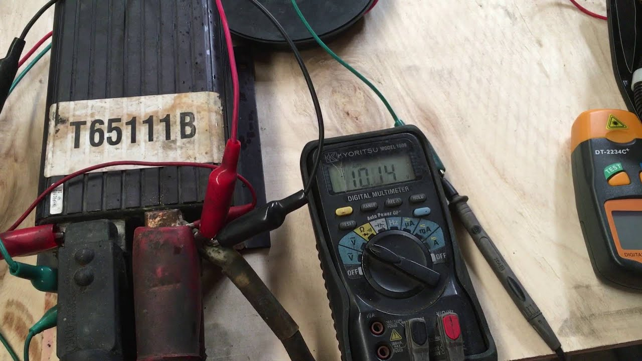 curtis 1204410 pmdc motor controller working youtube control