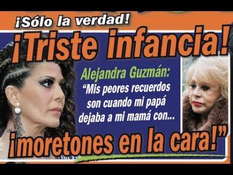 Alejandra Guzmán revelará la violencia de su padre