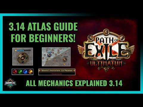 [Path of Exile] Atlas Guide for Beginners! Everything You Need To Know About PoE's Endgame System
