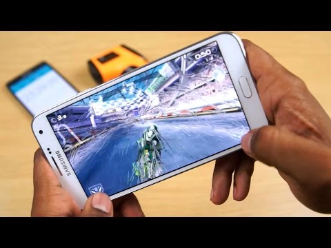 Samsung Galaxy E7 - Gaming Test (in 60 FPS)