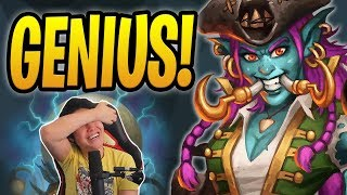 THIS OTK DECK IS GENIUS! w/ Captain Hooktusk | Mecha OTK Rogue | Rastakhan