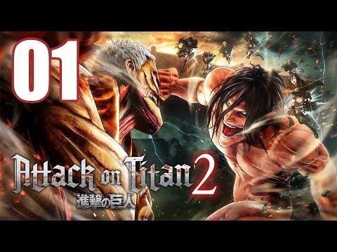 Attack on Titan 2 - Gameplay Walkthrough Part 1: A New Recruit