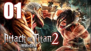Attack on Titan 2 - Gameplay Walkthrough Part 1: A New Recruit