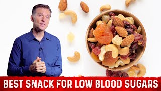 The Best Snack for Low Blood Sugars is....