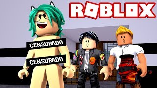 BABY LULY ESCAPES THE BEAST WITHOUT CLOTHES! HACKS and FLEES in ROBLOX (Flee The Facility) 😱