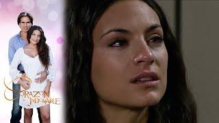 Maricruz descubre que Octavio no es el asesino de Alfonso | Corazón Indomable - Televisa