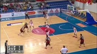 Gerti Shima - Highlights from Eurobasket Qualification 2017 with Albania National Team
