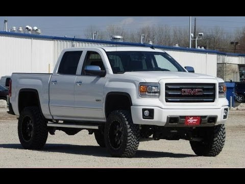 Lifted 2014 Gmc Sierra 1500 Crew Cab Short Box 4wd Slt Youtube