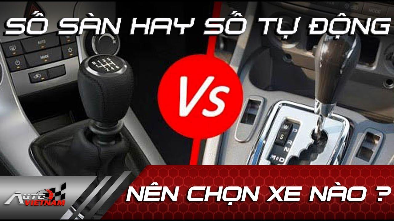 Nên chọn xe số sàn hay số tự động #short #autovietnam #oto