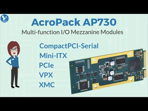 Acromag AP730 Multi-function I/O Mezzanine Module