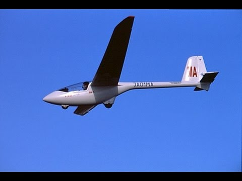 Learn to fly glider & sailplane cross country Texas Soaring TSA Roy Dawson video