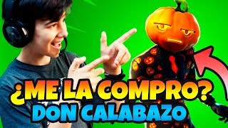 PLAYING WITH THE NEW SKIN OF *FORTNITE DON CALABAZO OF *HALLOWEEN ?