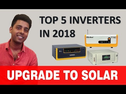 Solar Inverters:  Top 5 brands and top 5 best selling solar inverter in 2019.