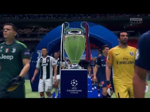 FIFA 19 Начало Ювентус-ПСЖ Финал Лиги Чемпионов PS4
