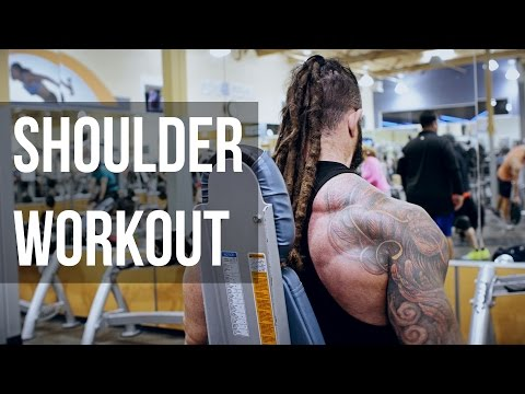 Shoulder workout on Black Friday