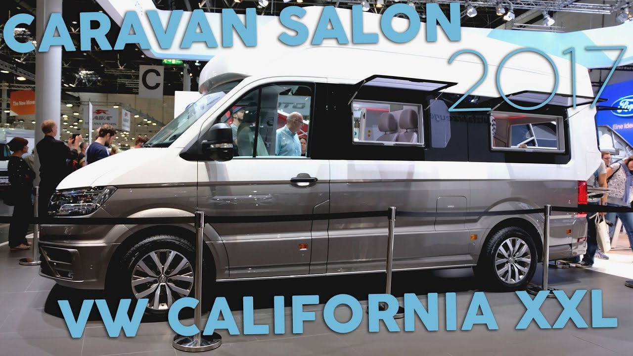 vw california xxl caravan salon 2017 wacken van youtube. Black Bedroom Furniture Sets. Home Design Ideas