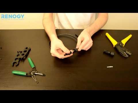 How to Assemble MC4 Connectors | Renogy