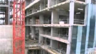 Beetham Tower Construction time lapse