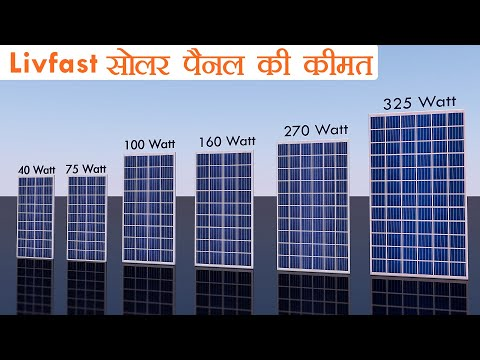 Livfast Solar Panel Price In India | लिवफास्ट  सोलर पैनल की कीमत