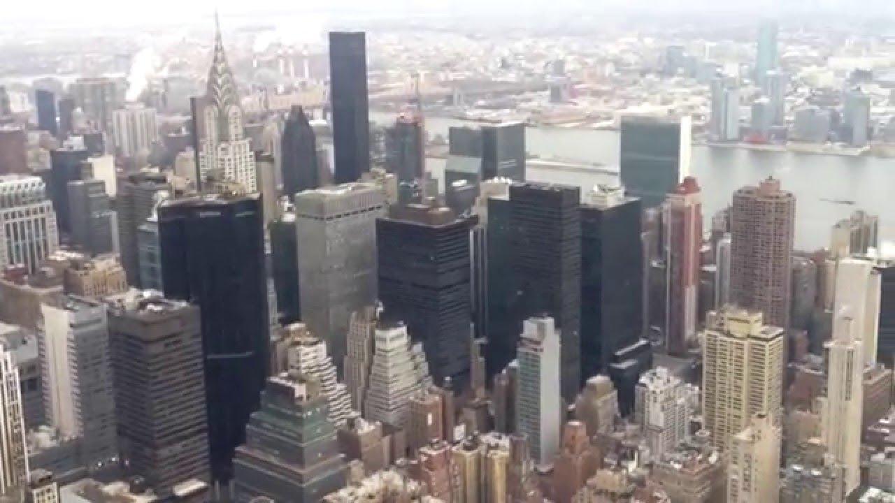 нью йорк фото сверху
