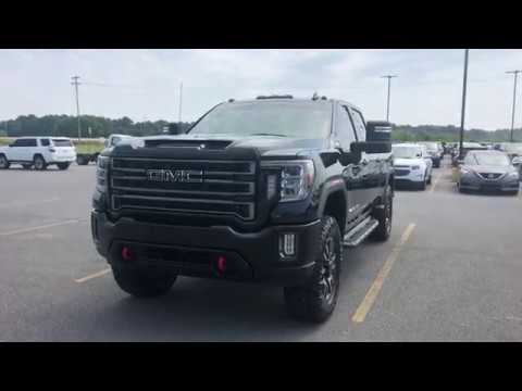 2020 Gmc Sierra 2500hd At4 W Leveling Kit And 37 Tires