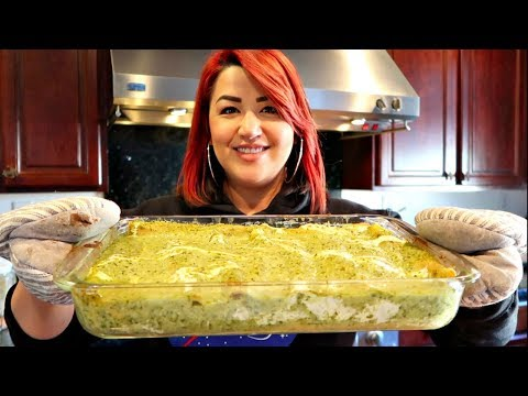 How to make The Best Green Chile Enchiladas | Easy Mexican Food Recipe