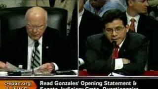 Senate Judiciary Committee w/Alberto Gonzales-7/24/07 Pt24