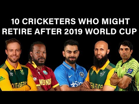 10 Cricketers who might retire after 2019 World Cup