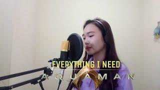 Skylar Grey - Everything I Need | AQUAMAN Soundtrack