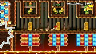 Speedrun(4): 1=easy,2=med,3=hard by Jenny - SUPER MARIO MAKER - NO COMMENTARY