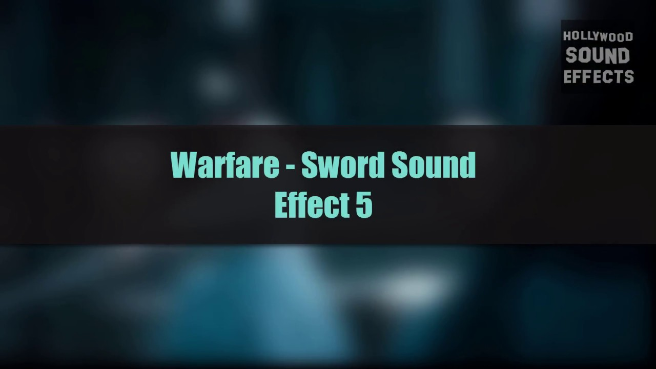 Sword fight sound effect [free download] youtube.