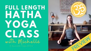 Hatha Yoga Class (preview) | Grounding in Parvatasana | Yoga Together Online
