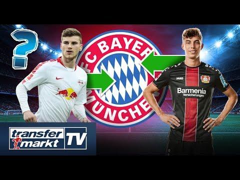 Bayern plant Rekordsommer mit 200 Mio. € Ausgaben – Werner & Havertz im Fokus | TRANSFERMARKT