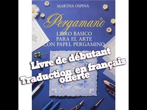 Livre de base Pergamano pour débutant de Martha Ospina ...