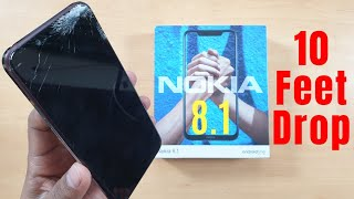 Nokia 8.1 (7.1 Plus) Durability (DROP SCRATCH WATER BEND) Test | Gupta Information Systems | Hindi thumbnail