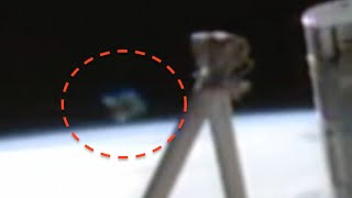Diamond UFO Shows Up At Space Station, NASA Cuts Live Feed, Ap…
