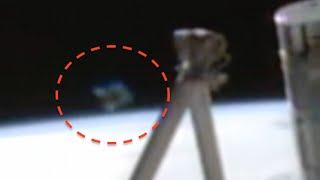 Diamond UFO Shows Up At Space Station, NASA Cuts Live Feed, April 2016,, UFO Sighting News.
