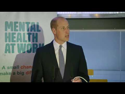 Heads Together | The Duke of Cambridge launches 'Mental Health at Work'