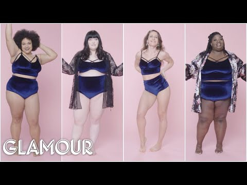 Women Sizes 0 Through 26 Try on the Same Lingerie | Glamour