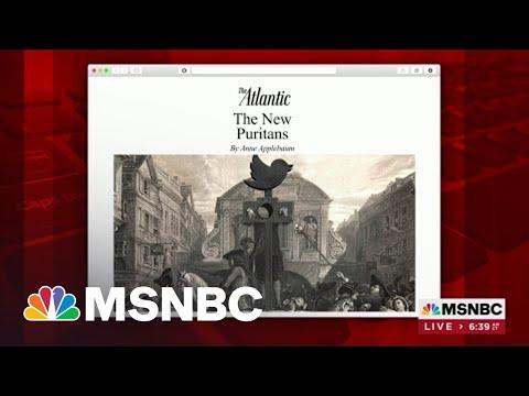 Anne Applebaum Writes Of 'New Puritans' In Latest Atlantic Piece