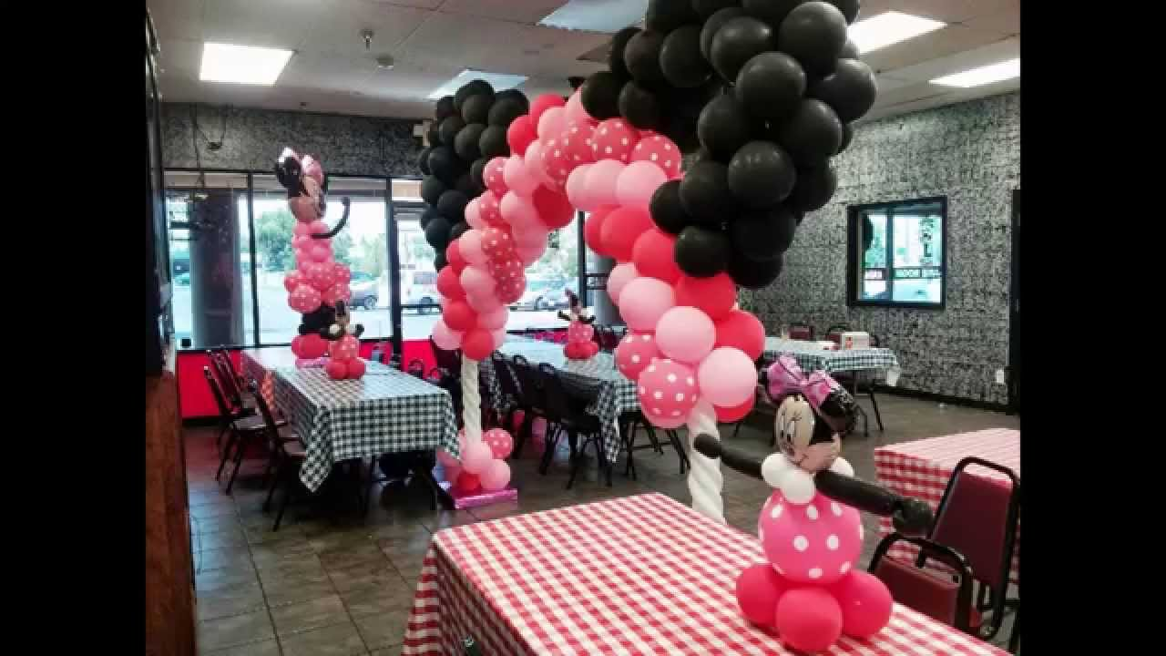 Minnie Mouse Babyshower